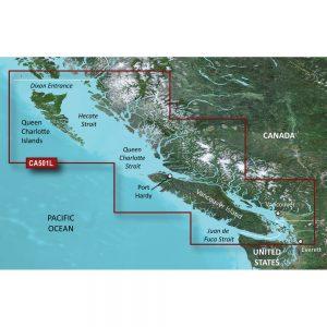Garmin BlueChart® g3 Vision® HD - VCA501L - Vancouver Island - Dixon Entrance - microSD™/SD™