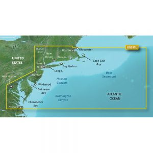 Garmin BlueChart® g3 Vision® HD - VUS511L - Boston - Norfolk - microSD™/SD™