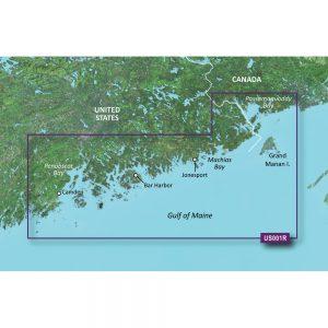 Garmin BlueChart® g3 Vision® HD - VUS001R - North Maine - microSD™/SD™