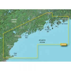 Garmin BlueChart® g3 Vision® HD - VUS002R - South Maine - microSD™/SD™