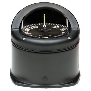 Ritchie HD-744 Helmsman Compass - Deck Mount - Black