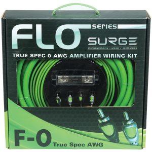 Surge F-0 Flo Series Amp Installation Kit (0 Gauge