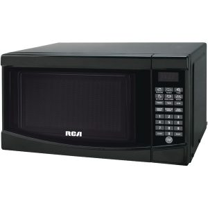RCA RMW733-BLACK .7 Cubic-ft Microwave (Black)