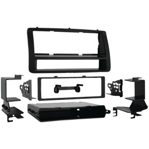 Metra 99-8204 Single-DIN/ISO-DIN Installation Kit with Pockets for 2003 through 2008 Toyota Corolla