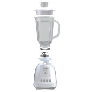 Koblenz LKM-5510 PB 1.25-Liter Kitchen Magic Collection 10 Speed and 2 Pulses Plastic Jar Blender