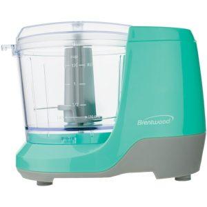 Brentwood Appliances MC-109BL 1.5-Cup Mini Food Chopper (Blue)