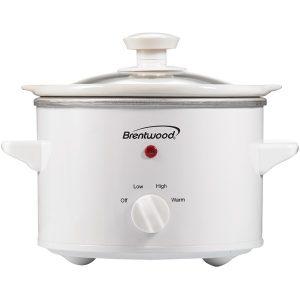 Brentwood Appliances SC-115W 1.5-Quart Slow Cooker