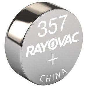 RAYOVAC 303/357-1ZMA 1.5-Volt 303/357 Silver Watch/Electronic Battery (Single)