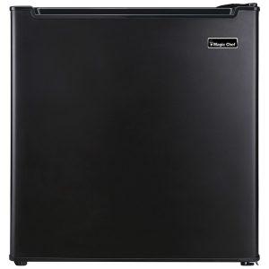Magic Chef MCR170BE 1.7 Cubic-ft Manual Defrost Refrigerator (Black)