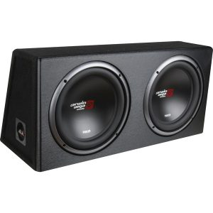 Cerwin-Vega Mobile XE10DV XED Series XE10DV Dual 10-Inch Subwoofers in Loaded Enclosure
