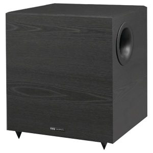 BIC America V-1020 Down-Firing Powered Subwoofer for Home Theater and Music (10-Inch
