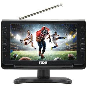 "Naxa NT-110 10"" Portable LED TV/Digital Multimedia Player with Car Package"