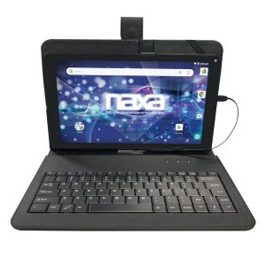 Naxa NID-1020 10.1-Inch Core Tablet with Android OS 8.1 and Keyboard