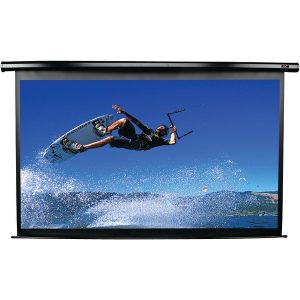 "Elite Screens ELECTRIC100H Spectrum Series Electric Screen (100""; 49""H x 87.2""W; 16:9 HDTV Format)"