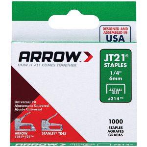 Arrow 21424 JT21 Thin Wire Staples
