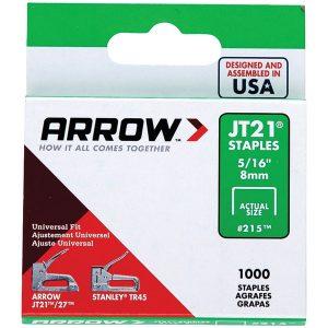 Arrow 21524 JT21 Thin Wire Staples