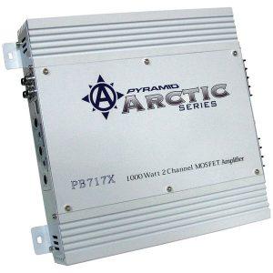 Pyramid Car Audio PB717X Arctic Series 2-Channel Bridgeable Class AB Amp (1