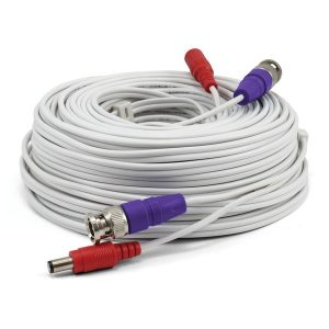 Swann SWPRO-30ULCBL-GL HD Video and Power BNC Extension Cable (100 Feet)