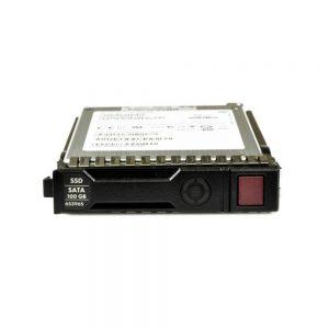 100GB HP SATA 3GB/s 2.5 Hot-Swap Solid State Drive 653112-B21