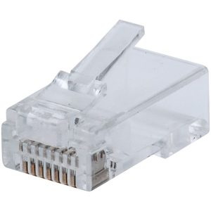 Intellinet Network Solutions 791083 FastCrimp CAT-5E RJ45 Modular Plugs (100-Pack)
