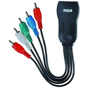 RCA DHCOPE HDMI to Component Video Adapter