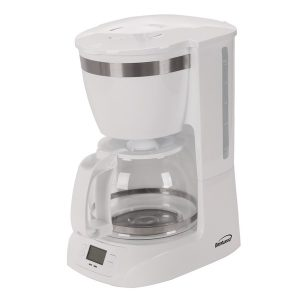 Brentwood Appliances TS-219W 10-Cup Digital Coffee Maker (White)
