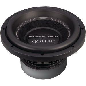 """Power Acoustik GW3-10 Gothic Series 2ohm Dual Voice-Coil Subwoofer (10"""""""
