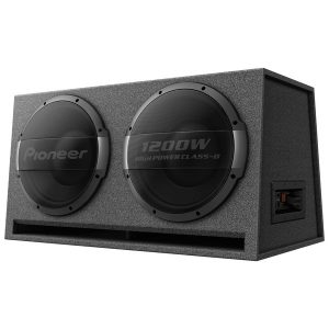 Pioneer TS-WX1220AH Dual 12-Inch Ported Enclosure Powered Subwoofer