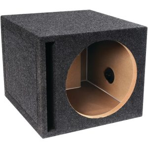 "Atrend E12SV BBox Series Single Vented Subwoofer Enclosure (12"")"