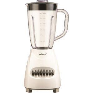 Brentwood Appliances JB-220W 12-Speed Blender with Plastic Jar (White)