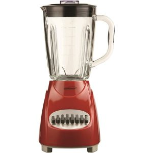 Brentwood Appliances JB-920R 42-Ounce 12-Speed + Pulse Blender (Red)