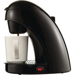 Brentwood Appliances TS-112B Single-Serve Coffee Maker with Mug (Black)