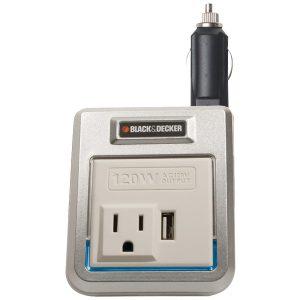 BLACK+DECKER PI120P 120-Watt Power Inverter