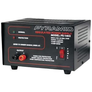 Pyramid Car Audio PS14KX 12-Amp Bench Power Supply