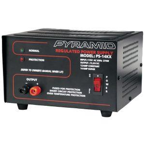 Pyramid Car Audio PS14KX 12-Amp Bench Power Supply