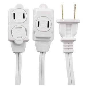 GE 51954 3-Outlet Extension Cord