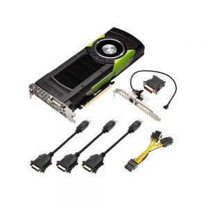 12GB nVIDIA Quadro M6000 GDDR5 DVI-D 4x DisplayPort PCI-E 3.0 x16 641329915189
