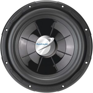 Planet Audio PX12 AXIS Series Single Voice-Coil Flat Subwoofer (12""
