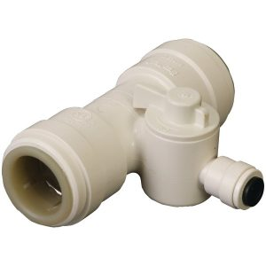 "Dormont TEE-010-P5 1/2"" Quick-Connect Tee Valve"