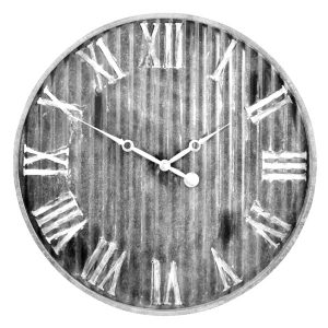 Westclox 37051 13-Inch Stylish Metal Wall Clock with Metal Dial