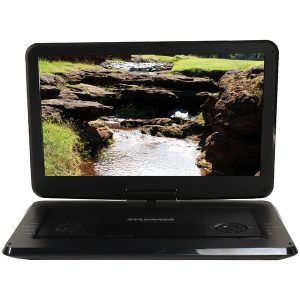 "SYLVANIA SDVD1566 15.6"" Swivel Screen Portable DVD & Media Player"