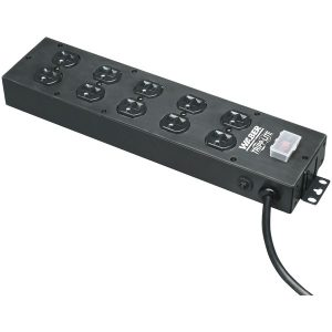 Tripp Lite UL800CB-15 Waber by Tripp Lite 10-Outlet Industrial Power Strip
