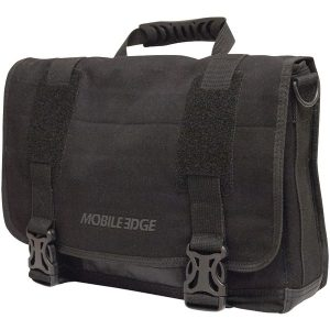 "Mobile Edge MEUME1 14"" PC/15"" MacBook Pro ECO Chromebook/ Ultrabook Messenger Bag (Black)"
