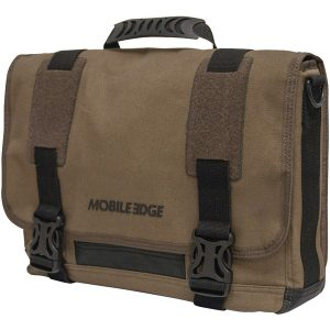 "Mobile Edge MEUME9 14"" PC/15"" MacBook Pro ECO Chromebook/ Ultrabook Messenger Bag (Olive)"