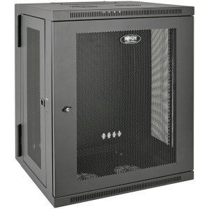 Tripp Lite SRW15US SmartRack 15U Low-Profile Switch-Depth Wall-Mount Rack Enclosure Cabinet