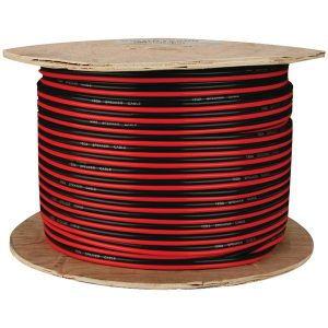 Install Bay SWRB16-500 Red/Black Paired Primary Speaker Wire