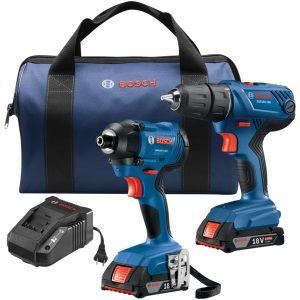 Bosch GXL18V-26B22 18-Volt 2-Tool Combo Kit