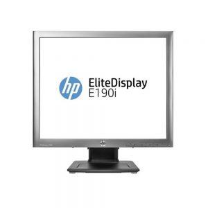 19 HP ELite E190i 1280x1024 VGA DVI-D DisplayPort USB Ultra Slim IPS LED LCD Black Monitor E4U30AA#ABA