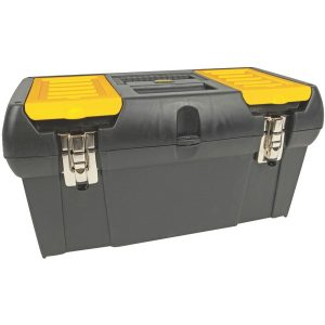 "STANLEY 019151M 19"" Tool Box with Removable Tray"