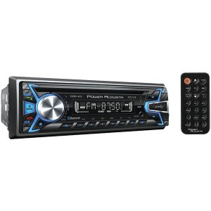 Power Acoustik PCD-51B Single-DIN In-Dash CD/MP3 AM/FM Receiver (With Bluetooth)